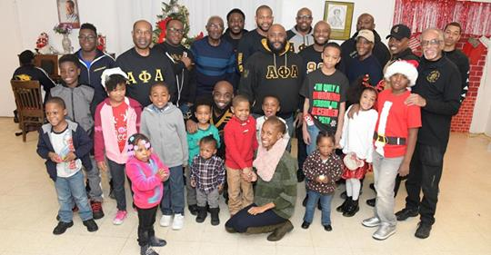 Alpha Phi Alpha Fraternity Rho Chapter Raises $7,800 To Provide Winter Coats For under served Youth